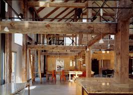 Home InteriorsInterior Design With Industrial Style Of The Great Black And White Rustic Interior