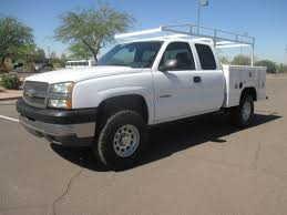 100 Chevy Utility Trucks USED 2004 CHEVROLET SILVERADO 2500HD SERVICE UTILITY TRUCK FOR