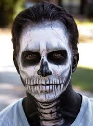Halloween Half Mask Makeup by Best 25 Skeleton Makeup Ideas On Pinterest Halloween Skeleton