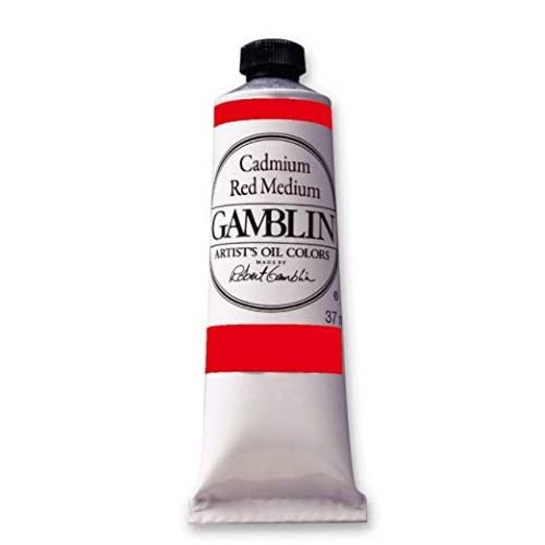 Gamblin Oil Color 150ml Cadmium Red Medium
