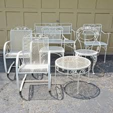 White Metal Patio Chairs 1500291743 — Hayatayelken Crosley Griffith Outdoor Metal Five Piece Set 40 Patio Ding How To Paint Fniture Best Pick Reports Details About Bench Chair Garden Deck Backyard Park Porch Seat Corentin Vtg White Mid Century Wrought Iron Ice Cream Table Two French White Metal Patio Chairs W 4 Chairs 306 Mainstays Jefferson Rocking With Red Choosing Tips For At Lowescom
