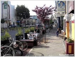 Bison Deck Supports Denver Co by Mojo Cafe Parklet Www Socketsite Com Urban Planning