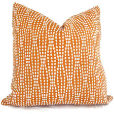 Orange Decorative Pillows Orange Throw Pillows Pillow Cover