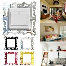 acryl schalter aufkleber wohnzimmer wanddekoration diy