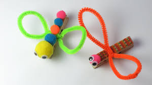 DIY How To Make Clothespin Dragonfly Easy Crafts For Kids