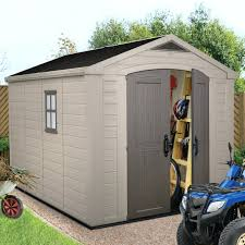 Lifetime 10x8 Plastic Shed by Small Mudroom Storage Garden Sheds Lifetime 10 8 Outdoor Plastic