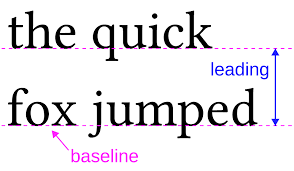 Leading Example 01 In Typography