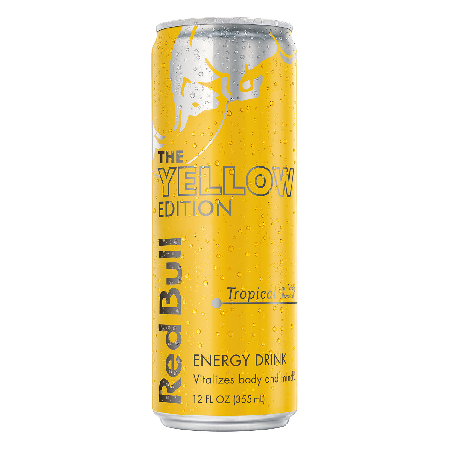 Red Bull The Yellow Edition Energy Drink - Tropical, 355ml