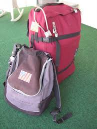I Have Installed Two American Flags On The Larger Backpack With Stars Facing My Heart As Wear Bag Needed To Purchase Types Of USA