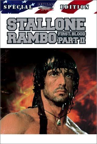 Rambo: First Blood 2 DVD