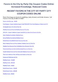 Favors In The City By Party City Coupon Codes Online By ... Party City Coupons Shopping Deals Promo Codes December Coupons Free Candy On 5 Spent 10 Off Coupon Binocular Blazing Arrow Valley Pinned June 18th 50 And More At Or 2011 Hd Png Download 816x10454483218 City 40 September Ivysport Nashville Tennessee Twitter Its A Party Forthouston More Printable Online Iparty Coupon Code Get Printable Discount Link Here Boaversdirectcom Code Dillon Francis Halloween Costumes Ideas For Pets By Thanh Le Issuu
