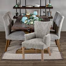 Tara Home Rustic 7 Piece Dining Set With Arm Chairs