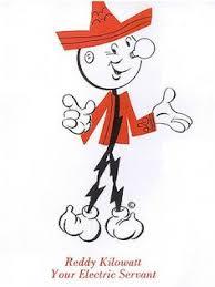 Reddy Kilowatt Character Lamp by Reddy Kilowatt Pin Reddy Kilowatt Pinterest Alabama