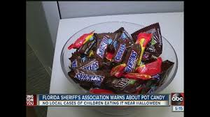 Poisoned Halloween Candy by Poison Control Warns About Dangers Of Marijuana Candy On Halloween