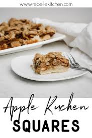 vegan apple kuchen squares rebelle kitchen