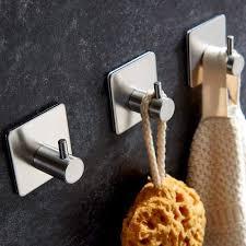 fitsund handtuchhaken 4 stück edelstahl handtuchhalter ohne
