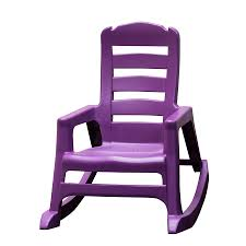 Adams Mfg Corp Kids Stackable Resin Rocking Chair At Lowes.com