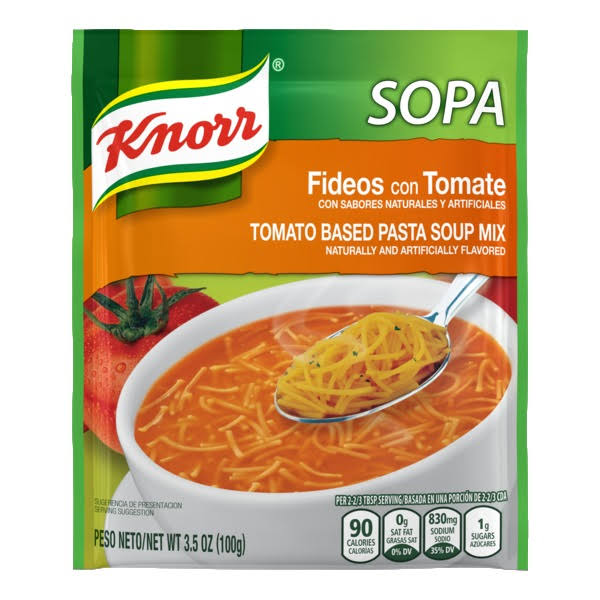 Knorr Sopa Tomato Based Pasta Soup Mix - 100g