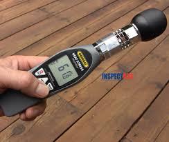 inspectusa bulb globe temperature meter wbgt8758 40mm