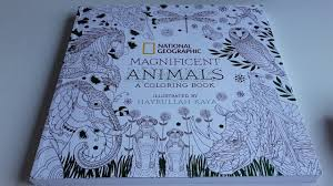 Review National Geographics Colouring Book Magnificent Animals