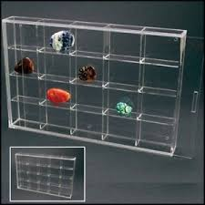 Image Is Loading Rock Display Case Acrylic Glass Curio W 20