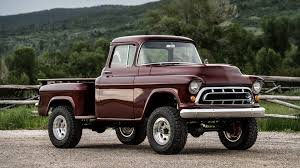 100 1950s Chevy Trucks Check Out This NAPCO Retromod Conversion