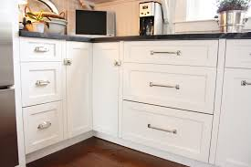 Kitchen Cabinet Hardware Placement Options by For The Love Of A House Kitchen Drawers The Sink Side