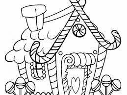 Get This Kids039 Printable Gingerbread House Coloring Pages