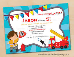 Fire Truck Birthday / Fire Truck Invitation / Fireman Birthday ... Custom Birthday Invitations Free Custom Printable Monster Truck Dump Party Unique Diy Garbage Tonka Cstruction Best Of Deluxe For Boys Cards Fresh Invitationsunder Etsy With Free Printables How To Nest Less Ideas Invites Kids Invitation Fire Engine