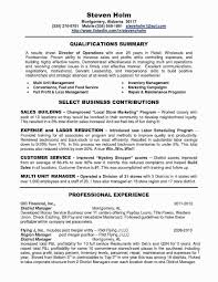 Sample Restaurant Manager Resumes Resume Format Beautiful
