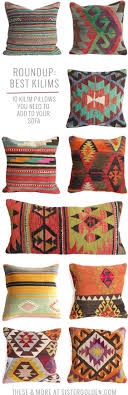 Kilim Pillows That Will Add Instant Boho Style To Any Drab Couch ... Cool Collaboration Jenni Kayne X Pottery Barn Kids The Hive Best 25 Kilim Pillows Ideas On Pinterest Cushions Kilims Barn Wall Art Rug Instarugsus Turkish Pillow And Olive Jars No Minimalist Here Cozy Cottage Living Room Wall To Bookshelves Pottery Potterybarn Pillows Ebth Unique Common Ground Decorating With And Rugs 15 Beautiful Home Products In Marsala Pantones 2015 Color Of Cowhide Rug Jute Layered Rugs Boho Modern Rustic Home Decor Wood Chain Object Iron