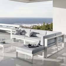 canape d exterieur design canapé d extérieur modulable fuse manutti saisons