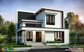100 New Modern Houses Design Simple Modern 4 Bedroom 1992 Sqft House Design Kerala