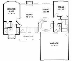 Small House Plans by Plan 1179 Ranch Style Small House Plan 2 Bedroom Split House