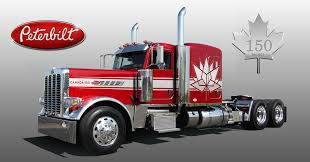 100 Peterbilt Model Trucks PETERBILT MODEL 389 CANADIAN 150TH ANNIVERSARY EDITION HONORS