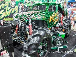 100 Monster Truck Shows 2014 The Five Most Outrageous 4x4s At SEMA DrivingLine
