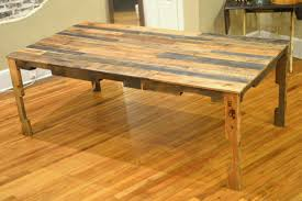 Wood Kitchen Table Plans Free by The Shipping Pallet Dining Table Little Paths So Startled