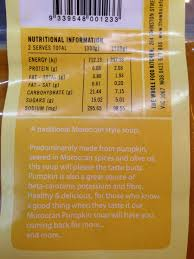 Haitian Pumpkin Soup Tradition by Moroccan Pumpkin Soup The Whole Food Kitchen 500g