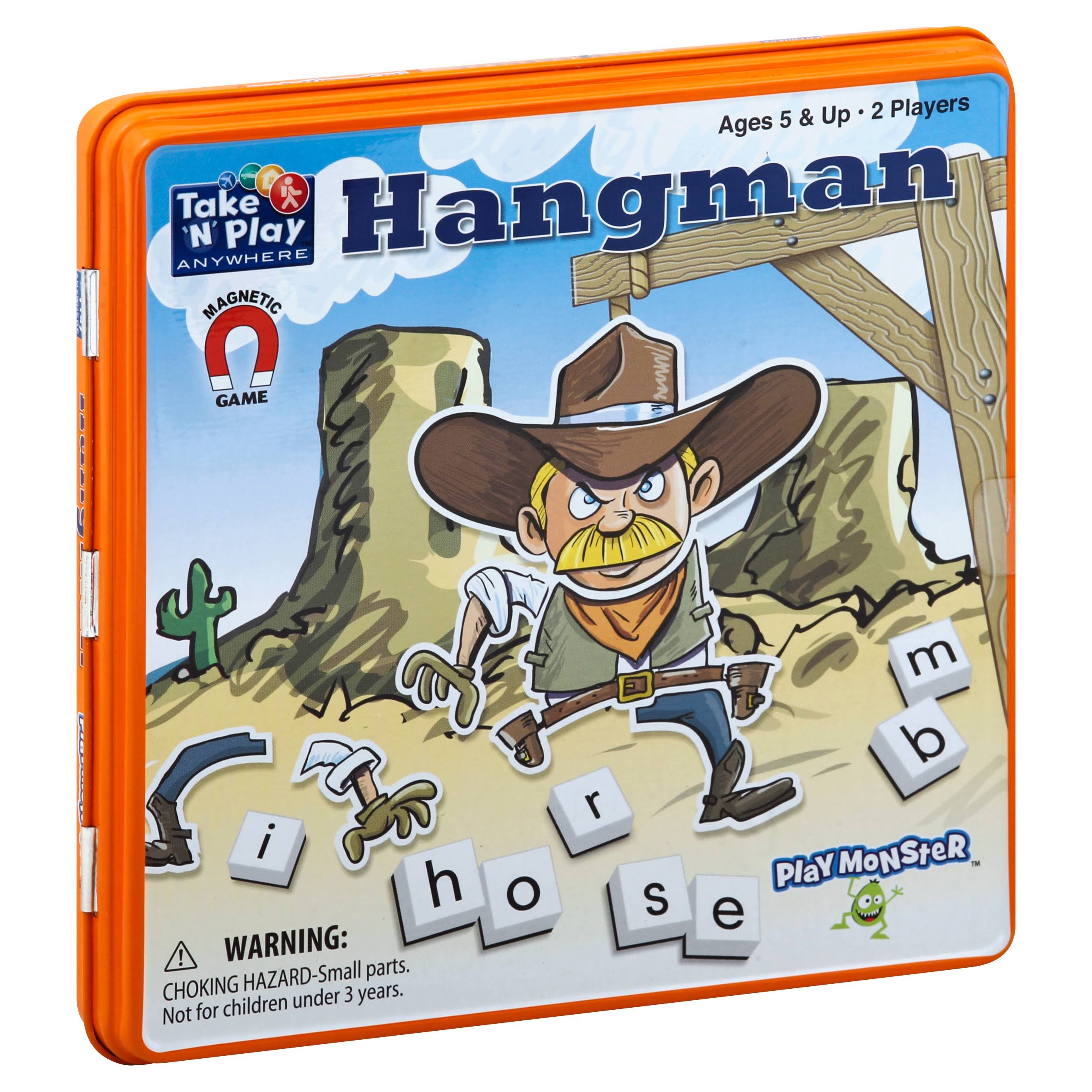 Patch Take 'N' Play Anywhere Hangman Magnetic Game