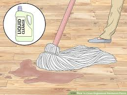 Can You Steam Clean Old Hardwood Floors by How To Clean Engineered Hardwood Floors 13 Steps With Pictures
