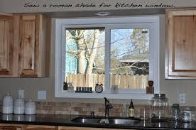 Lovely Ideas For Kitchen Window Dressing About
