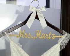 Personalized Rustic Wedding Dress Hanger New Tech By Bridenew