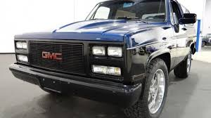 1982 GMC Jimmy 2WD For Sale Near O Fallon, Illinois 62269 - Classics ... Electrical Diagram 1982 Gmc Auto Wiring Today Gmc Cser Salvage Truck For Sale Hudson Co 140150 Pickup Information And Photos Momentcar Dualrearwheel Cab Chassis Squarebodies Pinterest 7000 Dump Truck Item Ae9024 Sold March 27 Cons Gmc30 Camper Special 33 Crew Dooley Sqaurebodies Chevrolet Bison Wikipedia Used Headlights For High Sierra Stepside 4x4 Short Box Chevy Custom K1500 Sale 2500 Utility Bed Pickup Dc Top Kick Tank K2242 June 9 Con