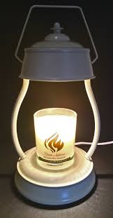 Aurora Candle Warmer Lamp by Candle Warmer Hurricane With Wick Free Candle Medium Divine