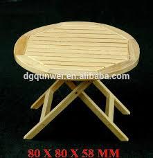 1 12 skala puppenhaus miniatur möbel diy holz runde klapptisch holz esszimmer tisch qw60291 buy holz spielzeug 1 12 puppenhaus mini 3d miniatur