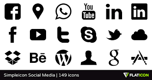 Simpleicon Social Media 145 free icons SVG EPS PSD PNG files