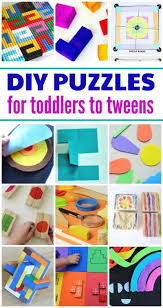 Make Your Own Puzzles DIY Ideas For Kids Of All Ages