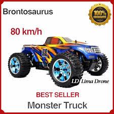 Jual Rc Offroad 4x4 Monster Truck Brontosaurus 4WD Top Speed 80 Kmh ...