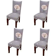 Amazon.com: Vonty Geometric Pattern Stretchy Dining Chair Covers ... Pin By Lynne Bourn On Wedding In 2019 Chair Decorations Ding Room Chair Covers Sew Or Staple Craft Buds Slipcover For Sure Fit Soft Suede Shorty How To Make Diy High Cover Tutorial Mary Martha Chairs Black Childrens Patterns Sofas Purple Dani Pillows And Throws Seat Table Grey Parson Fniture Wingback Pattern Design Stretch Stool Protectors M Rocking Covers Current Teresting Modest Cover Pattern Rowico Lulworth Beige Loose Striped Linen White Adorable Teal Kitchen 2018 European Floral
