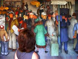 Coit Tower Murals Diego Rivera by James Mcgillis Teacher Writer Photographer